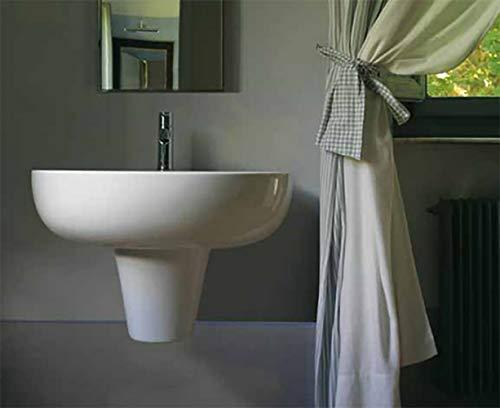 Lavabo lavandino con semicolonna .65 marca Grace Globo