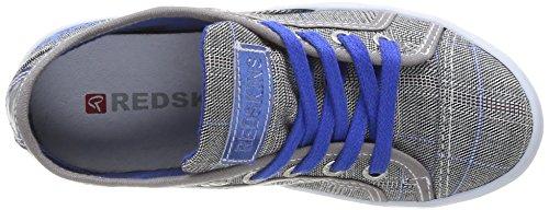 Clearblue - Hobbol, Scarpe Sportive Di Tela da bambini e ragazzi grigio(Gris (Gris/Bleu))