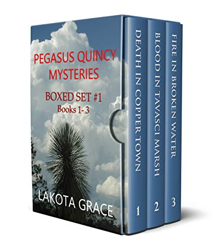 The Pegasus Quincy Mystery Series Boxed Set I: Books 1 - 3: Small town police procedurals set in the American Southwest (English Edition)