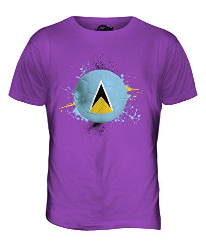 CandyMix St. Lucia Fußball Herren T Shirt Violett