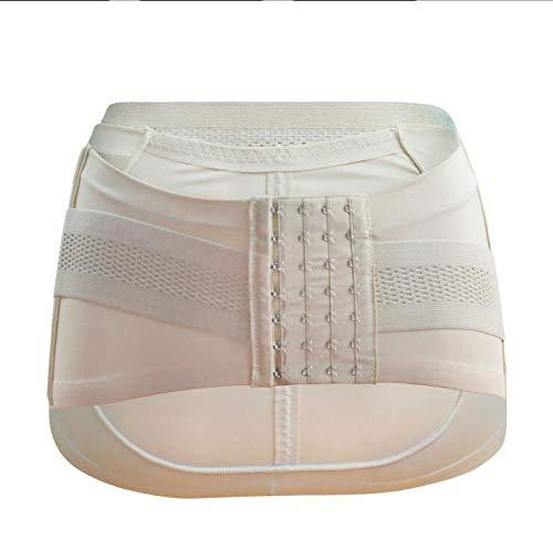 WXFC Beckenkorrekturgürtel für Erwachsene, zur Linderung von Hüft- / Bauchschmerzen, Korrekturgürtel für die Beckenhaltung, Rehabilitationsgürtel nach der Geburt, schwarz/Farbe,Flesh,M