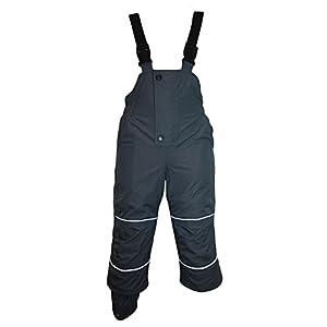 Outburst – Jungen Skihose Schneehose Wasserdicht 10.000 mm Wassersäule, Grau – 4860732
