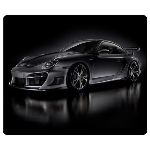 Preisvergleich Produktbild 26x 21cm/25,4x 20,3cm Personal Maus Pads Präzise Reinigungstuch umweltfreundlichem Gummi Form ist langlebig Porsche Car Logo Super