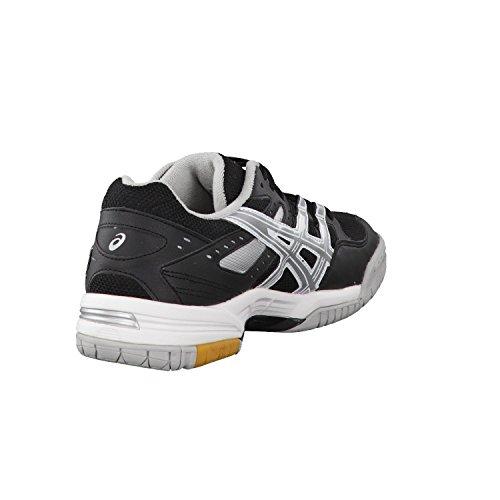 Asics  Gel-rocket 6, Chaussures de course pour homme Noir/argenté
