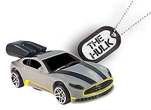 Whistle Racer WR1THBC2 The Hulk - Coche de Juguete, Color Plateado