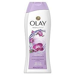 Olay Fresh Outlast Soothing Orchid & Black Currant Body Wash 13.5 oz