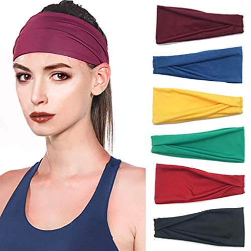 Wind Chill Heat (Bobopai JMNyxgs Women Workout Headband Soft Wicking Stretchy Head Wrap Bandana Sweatband Hairband Headwrap Ideal for Sports Yoga Running Cycling Fitness Multifunctional Headwear Cotton Elastic (Black))