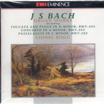 Toccata e fuga BWV 565 (1708) in re Toccata adagio e fuga BWV 564 in DO (1708 17) Passacaglia e fuga BWV 582 (1708) in do Corale BWV 645 Wachet auf ruft uns die stimme (Sch Corale BWV 659 Nun komm der heiden heiland
