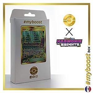 Forêt de Jade (Bosque verde) 256/236 Entrenadore Secreta - #myboost X Soleil & Lune 11 Harmonie des Esprits - Box de 10 cartas Pokémon Francés