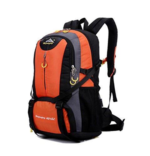 Wmshpeds Grande capacità può essere estesa outdoor alpinismo sacco spalle borsa per computer moda tempo libero zaino borsa G