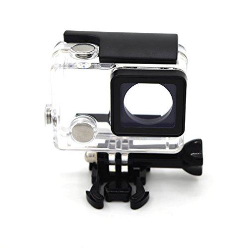 Funda protectora segura a prueba de agua transparente para los accesorios de la cámara de Gopro HERO 4/3 +/3