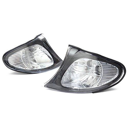 Preisvergleich Produktbild ricoy Paar für 2002-2005 E46 3-Serie 4-türig Limousine Ecke Lights - Kristall Clear Lens