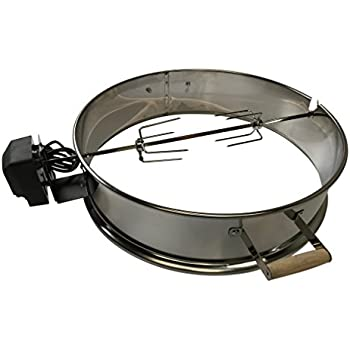 """Charcoal Grill Kettle Rotisserie Ring 22 1/2"""" / 57 CM fits"""