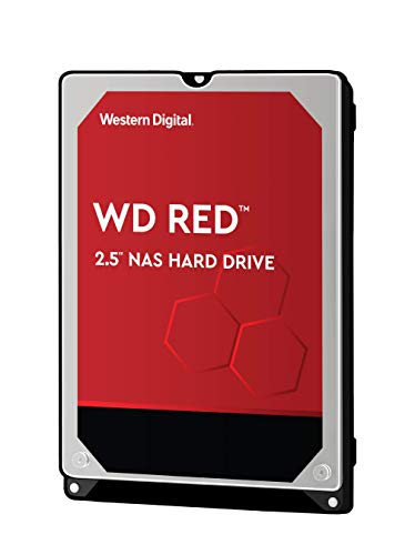 WD Red 750 GB mobile NAS Festplatte WD7500BFCX SATA 6Gb/s 16MB Cache intern 6,4cm 2,5 Zoll 24x7 IntelliPower optimiert für SOHO NAS Systeme NASware HDD Bulk