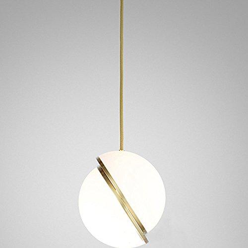 XINGJ Lampadari Acrilici Creativi Nordici Creativi della Singola Testa LED del Ristorante della Camera da Letto del Salotto del Tavolo da Salotto del Candeliere dei Lampadari Decorativi,S
