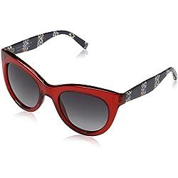 Tommy Hilfiger Sonnenbrille TH 1480/O/S Gafas de sol, Rojo (Rot), 51.0 Unisex-Adulto