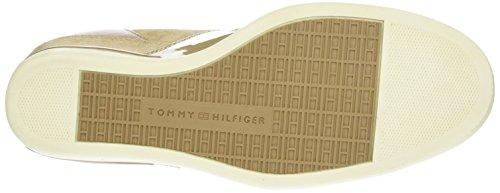 Tommy Hilfiger Damen S1285ebille Low 24c High-Top Beige (SAND 102)