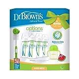 Dr. Brown's OPTIONS Natural Flow - Set de regalo exclusivo (Color: Verde)