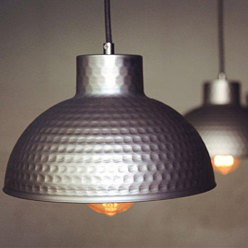 BAYCHEER Modern Hängelampe LED Lampe Aluminium Lampenschirm ø 26cm Retro Fabriklampe - 3
