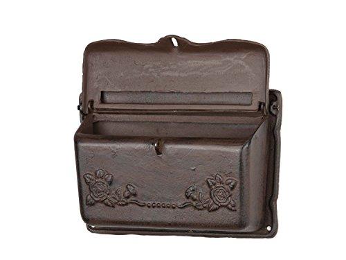 Briefkasten Wandbriefkasten Eisen Antikstil Landhausstil Shabby iron letterbox - 4
