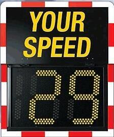 New Design Traffic Warning Light LED Radar Speed Sign GL-CSY-02