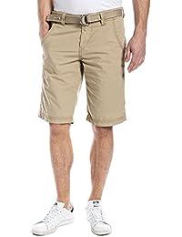 Timezone RussellTZ  chino shorts incl. belt - Short - Homme