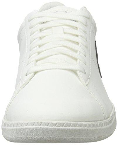 Le Coq Sportif Courtset S Lea, Baskets Basses Mixte Adulte Blanc (Optical White/Dress)