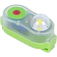 OhhGo Life Jacket Iluminación LED Litio JHYD-I Agua de mar Luz de auto-iluminación (cian)