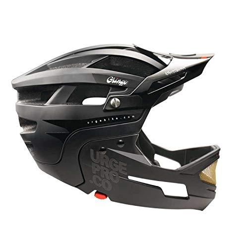 Urge Gringo de la Sierra Integralhelm Mountainbike, Unisex, Erwachsene, Schwarz, L/XL