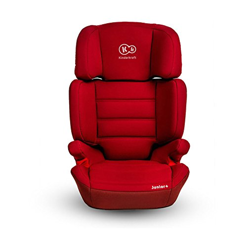Kinderkraft Junior Plus OX Kinderautositz Autokindersitz Kindersitz 15 bis 36 kg Gruppe 2 3 Rot