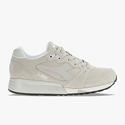 Sneaker Diadora Scarpe UOMO DIADORA S8000 Italia 501.170533 (46-75041 Grigio Roccia)