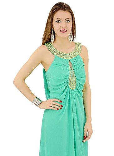 Robe Verte Longue de Soirée Vert
