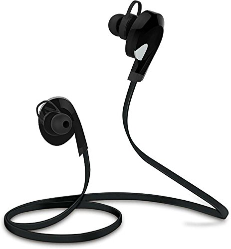 Envent ET-BTE001 in-Ear Bluetooth Headphone with Mic (Black)