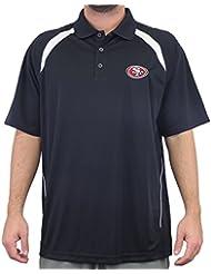 "San Francisco 49ers Majestic NFL ""Winners"" Men's Short Sleeve Polo Shirt Chemise"