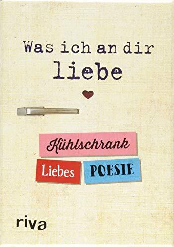 Was ich an dir liebe - Kühlschrank-Liebespoesie (Ostern Kühlschrank-magnete)
