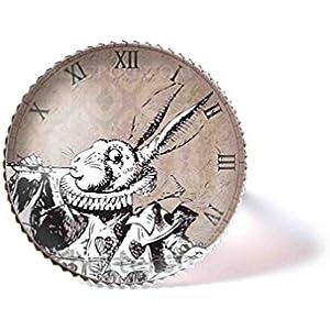 Ring mit Cabochon, Weißes Kaninchen