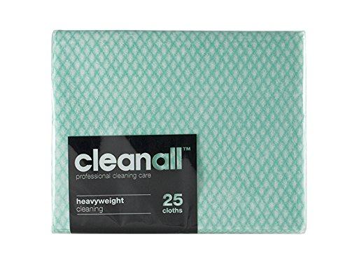 cleanall jcc25g carrello professionale, panno, pesante, verde (Confezione da 24)