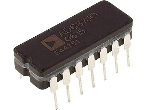 AD637JQ Integrated circuit RMS/DC converter 108mW 3÷18VDC DIP14 ANALOG