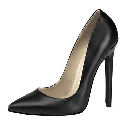 Damenpumps schwarz Schwarz