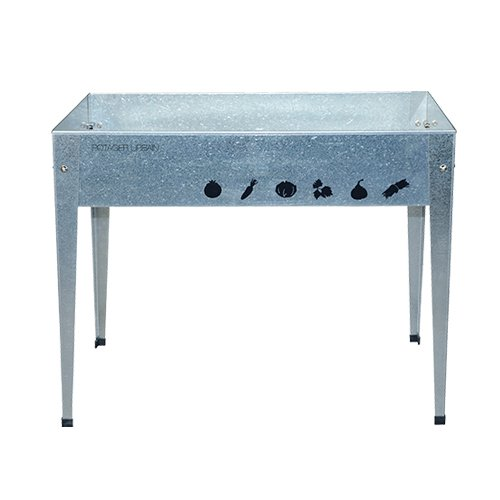 Herstera Garden 08901803 - Table de Culture, 100 x 60 x 84 cm, Couleur galvanisé