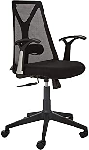 Amazon Brand - Solimo Zurich Mid Back Mesh Office Chair