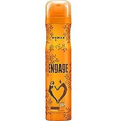 Engage deodorant Men+Women (Abandon & Awe), 150ml x 2 Pcs.