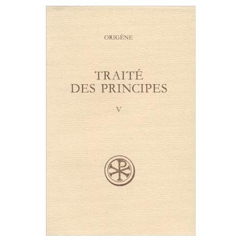Traité des principes, tome V