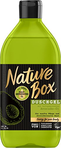 Nature Box Duschgel Avocado-Öl   , 6er Pack (6 x 385 ml)