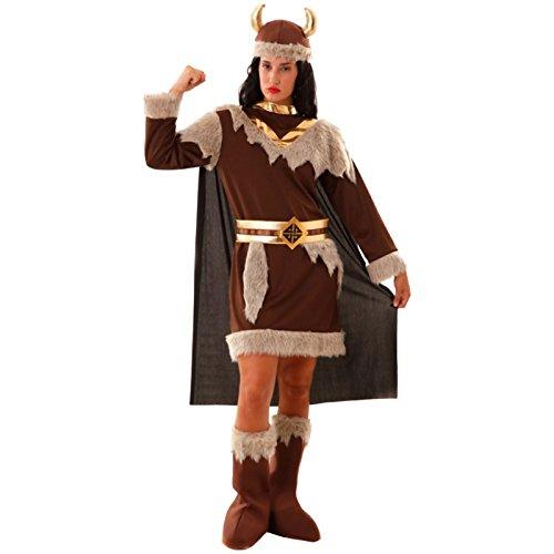 Kostüm Wikingerin Größe S Wikingerkostüm Faschingskostüm Damenkostüm Vikinger