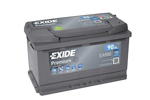 Exide EA900 Premium Carbon Boost Autobatterie 12V 90Ah 720A