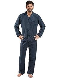 Da uomo 100% cotone spazzolato flanella Diamond spot Cosy Winter Night  camicia pigiama m – fa959839632