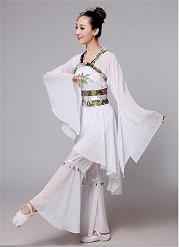 Peiwen donne in cinese antico abiti stile di ballo vestito/danza, xl