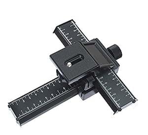 MP power ® Plateau rail coulissant 4 voies Macrophotographie et Mise au point pour Canon Nikon sony Penatx Panasonic DSLR caméras