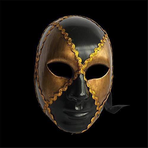 NUOKAI Karnevals Venezianische Maske Full Face Handgemalte Erwachsene -